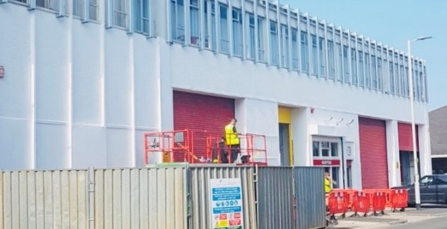 Cladding Maintenance in Amerton